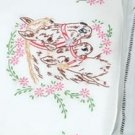 Jack Dempsey Stamped Pillowcases White Perle Edge ~ Mare & Colt 1600-142