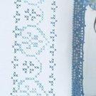 Jack Dempsey Stamped Pillowcases White Hemstitch Edge ~ XX Americana 1100-366