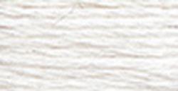 DMC Embroidery Floss 100% Cotton 8.7 yds (8 m) ~ 117-Blanc White