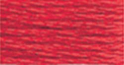DMC Embroidery Floss 100% Cotton 8.7 yds (8 m) ~ 117-666 Bright Christmas Red