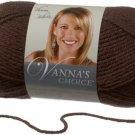 Lion Brand Vanna's Choice 1 skein ~ Chocolate 860-126