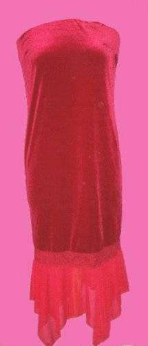 Gorgeous Red Strapless Sexy Valentine Dress
