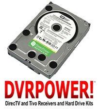 DIRECTV HARD DRIVE UPGRADE KIT HR23 HR22 HR21 HR20 HD DVR 2000GB (2TB) INTERNAL