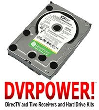 DIRECTV HARD DRIVE UPGRADE KIT HR23 HR22 HR21 HR20 HD DVR 1000GB (1TB) INTERNAL