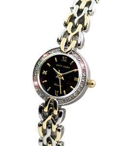 Pierre Cardin Women's Black Dial Crystal Watch