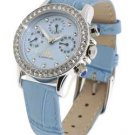 JLO Blue Round Watch