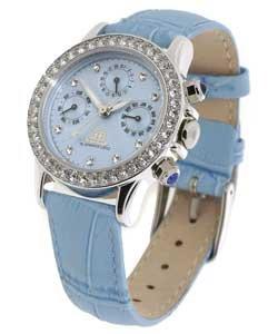 JLO Blue Round Watch