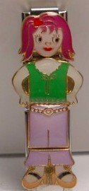 4 PIECE SARA DOLL ITALIAN CHARM GIRL CHICK MIX & MATCH