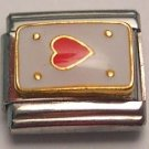 ACE OF HEARTS ITALIAN CHARM/CHARMS CARDS POKER