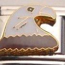 BALD EAGLE USA BIRD ITALIAN CHARM/CHARMS FOR NOMINATION