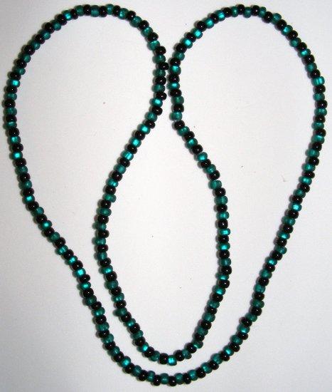 Black & Turq Necklace