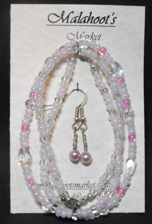 Necklace, Bracelet & Earing Set #NBES0060