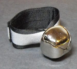 Bear Bell Large Silver- #BBLS