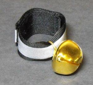Bear Bell Large Gold-   #BBLG