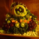 Rima Swan Fruit Bowl