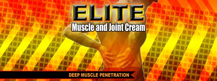 Elite Muscle and Joint Cream-360ss