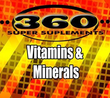 Vitamins and Minerals-360SS