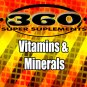 Vitamins and Minerals-360SS
