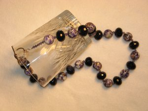 Blue Goldstone and Mosaic Shell