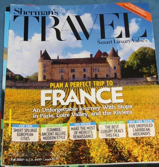 Sherman's Travel Magazine Fall 2007 Issue