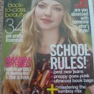 Teen Vogue Amanda Seyfried August 2008 Cover