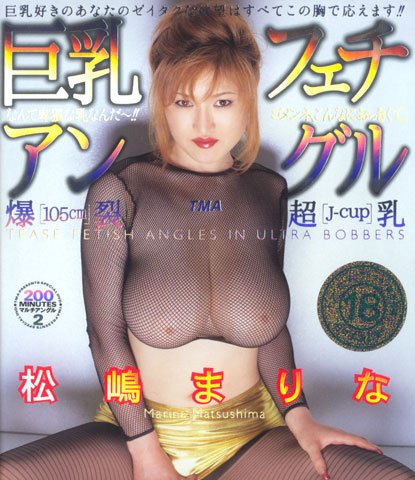 "MARINA MATSUSHIMA ""Tease Fetish Angle"" DVD 11ID-085"