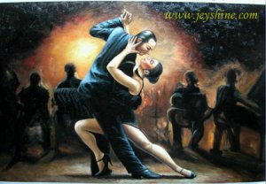 Handmade oil painting - Tango