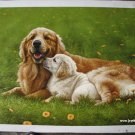 Handmade oil painting - Dog