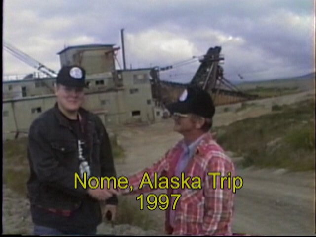 Nome Alaska GPAA trip a set of 5 dvd's