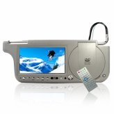 7inch Sun Visor DVD Touch Screen with TV + FM -Rig