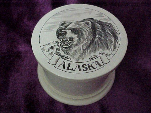 Kodiac Bear Pill Box Alaska
