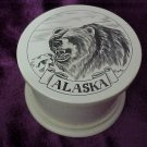 Kodiac Bear Pill Box Alaska