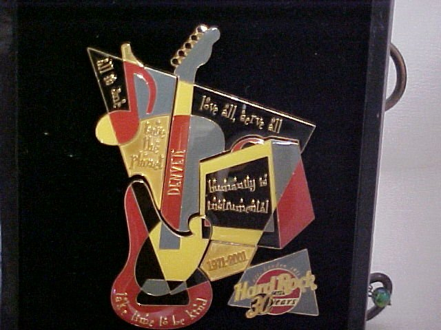 Hartd Rock Cafe 30 Year Anniversary Pins