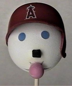 Anaheim Angels Jack in The Box Antenna Topper-Ball