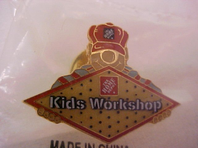 The Home Depot Kids Workshop  Pin-Pins