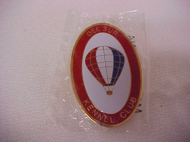 Del Sur Kennel Club    Pin-Pins