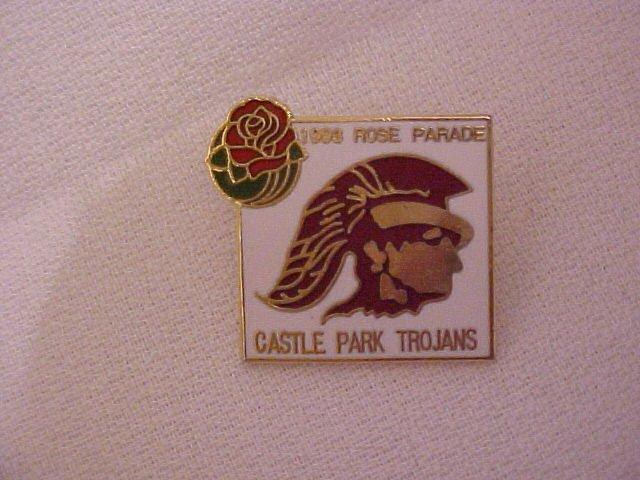 Castle Park Trojans.Pin