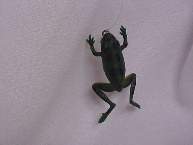Vintage  Frog Rubber Fishing Lure-Lures