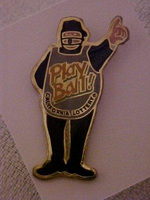 California Lottery PLAY BAAALLLL  Pin