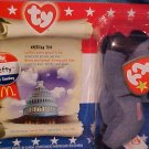 Ty McDonald Beanie Babies Lefty Republican The Donkey