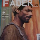 FADER Magazine December 2004  SNOOP DOGG Cover