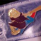 Puzzle Pin Set 2001 SAN DIEGO PADRES Pin # 6