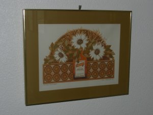 COINTREAU WITH FLOWERS-Original by VIRGIL THRASHER