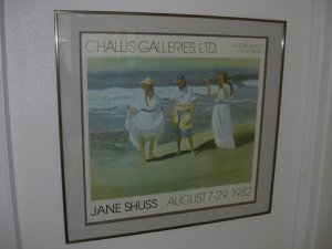 SUMMER BREEZE - Signed Poster by Jane Shuss