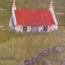 Houses in the Western Isles Print by Polly Bryan Signed