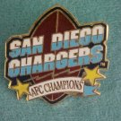 SAN DIEGO CHARGERS AFC CHAMPIONS Pin-Pins