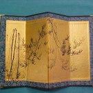 "Mini-Japanese ""NOREN"" (GOLD PAVILION) Curtain/ Room Divider"