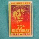 San Diego Zoo Birthday Lapel Pin