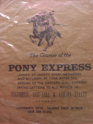 Country Sign PONY EXPRESS