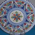 "Italian Majolica Pottery Fruit Colors Plate 11 1/2"""